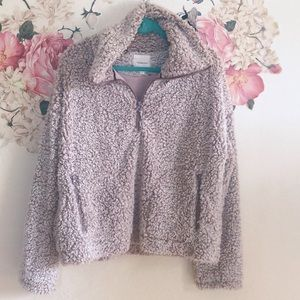 Thread & Supple pullover Sherpa sweatshirt size L